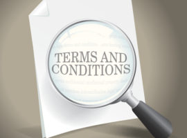 To simplify your loyalty and rewards program take a look at the terms and conditions