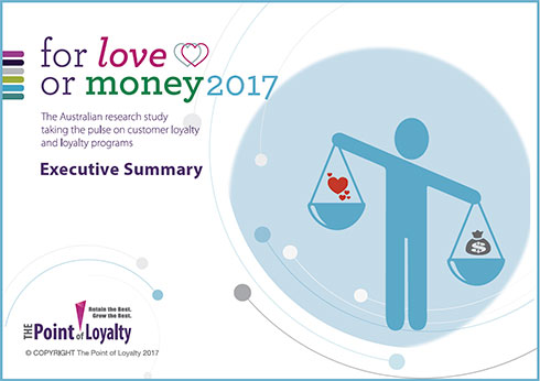 For love or money 2017 Complimentary Executive Summary