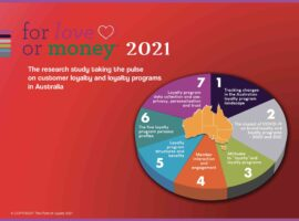 Almost there…For Love or Money™ 2021 research study taking the pulse on customer loyalty and loyalty programs in Australia and New Zealand